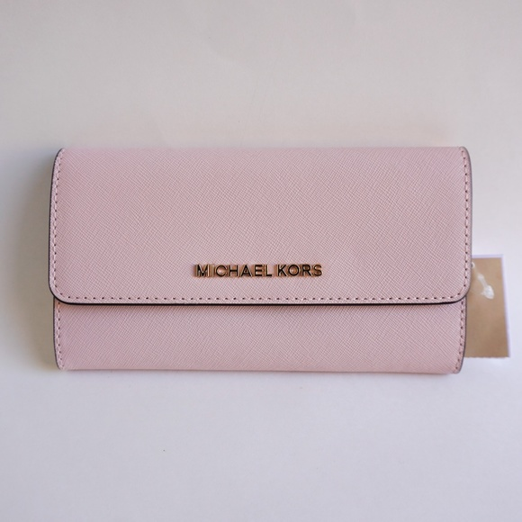0fa13fdeee Michael Kors LG Trifold Wallet Pink(Blossom) Fawn